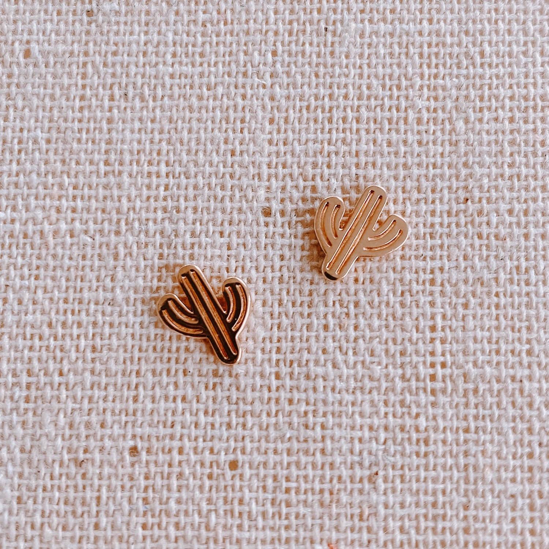 boucles d'oreilles cactus - Bjoux Cénélia
