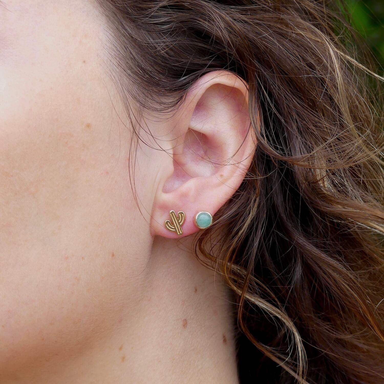 boucles d'oreilles cactus - Cénélia