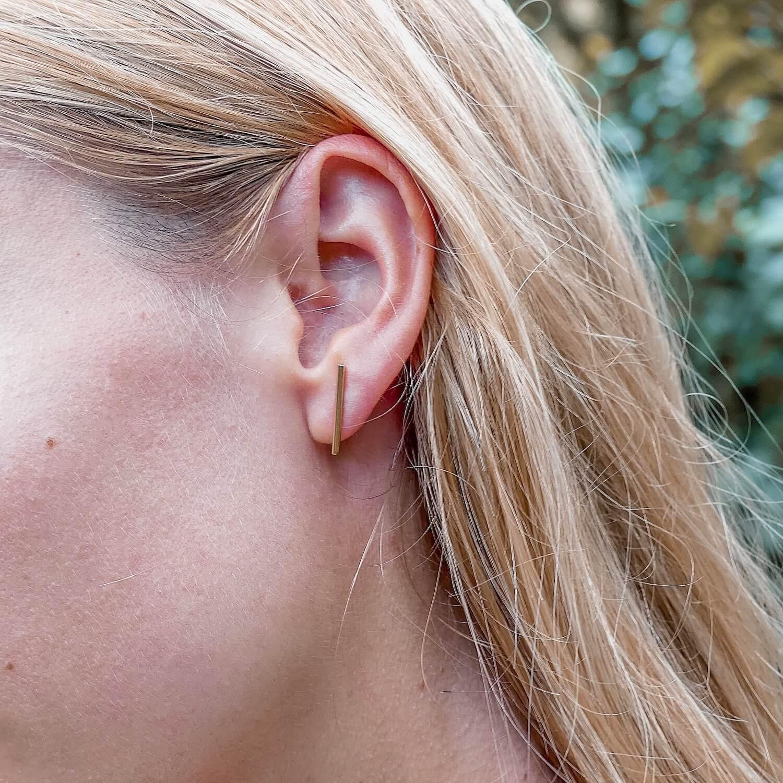 boucles d'oreilles fines - Bijou femme Martinique Cénélia