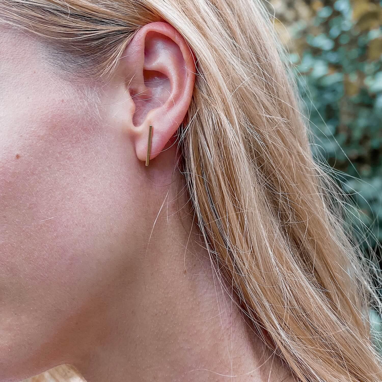 boucles d'oreilles fines - Bijoux femme Martinique Cénélia
