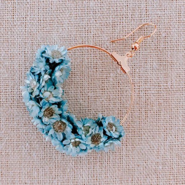 boucles grande terre - boucle d oreille fleurs martinique - Cénélia