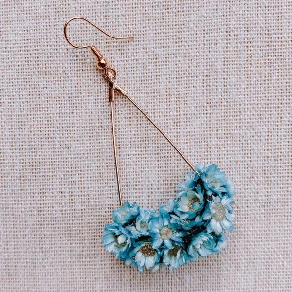 boucles marie galante - boucles d oreilles à fleurs Martinique - Cénélia