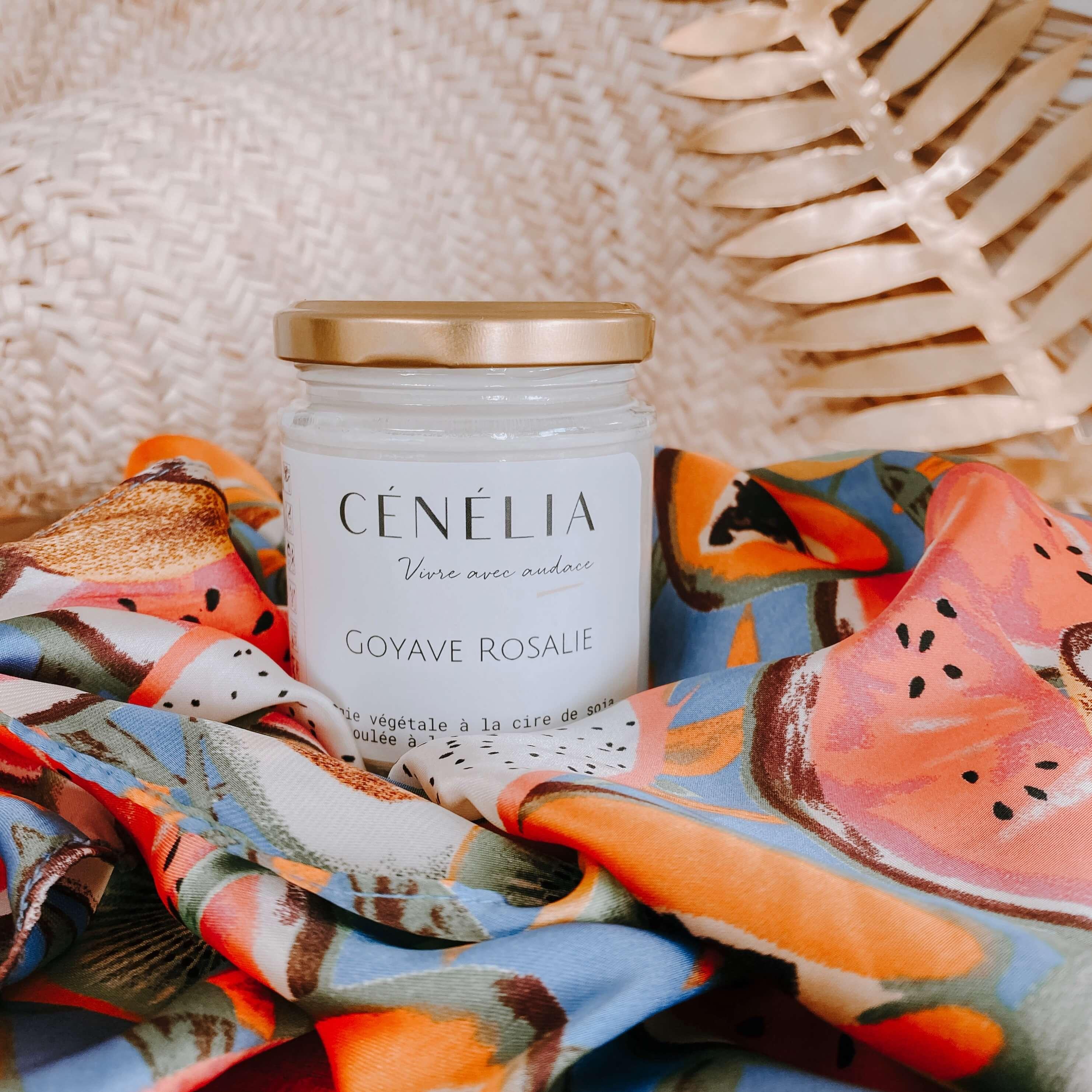 bougie à la goyave - Cénélia