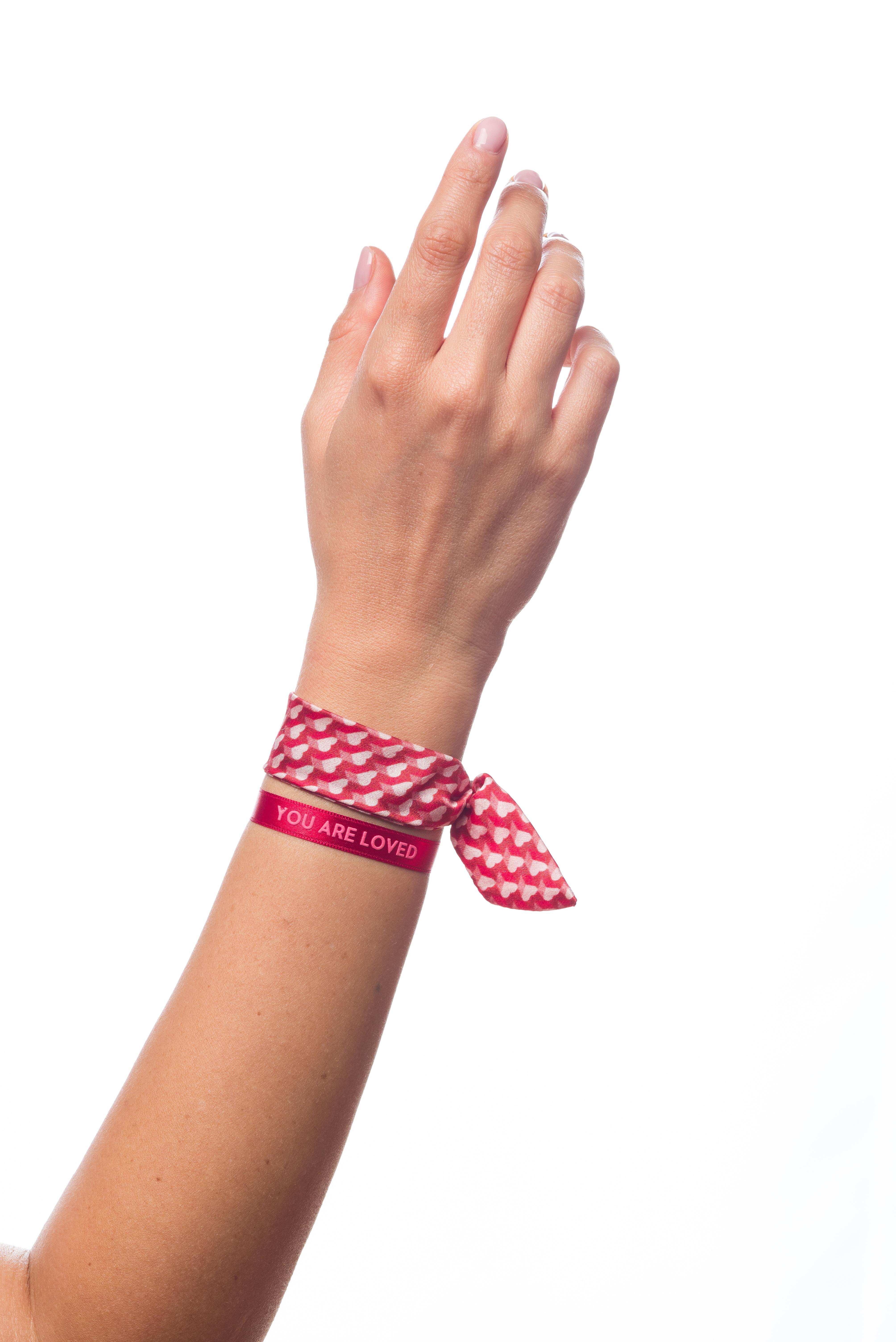 bracelet amitié | bracelet amour | Pink Heart | Cénélia
