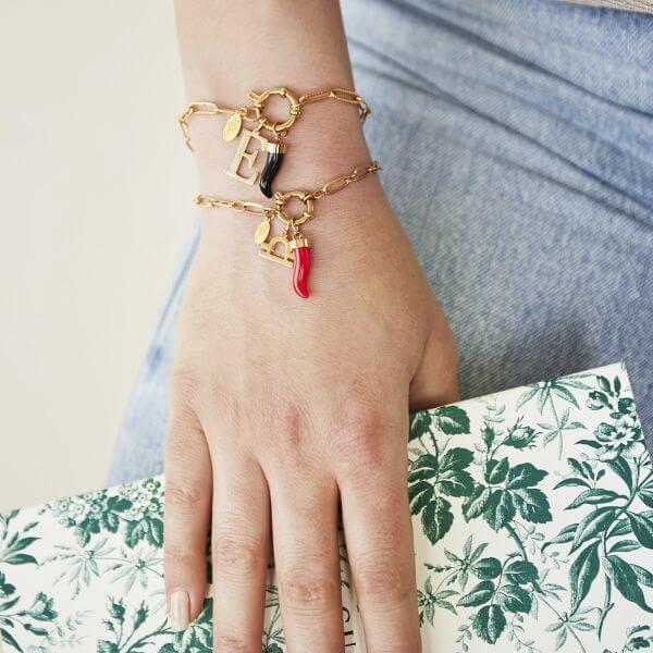 bracelet chaine - Cénélia - bracelet mode femme