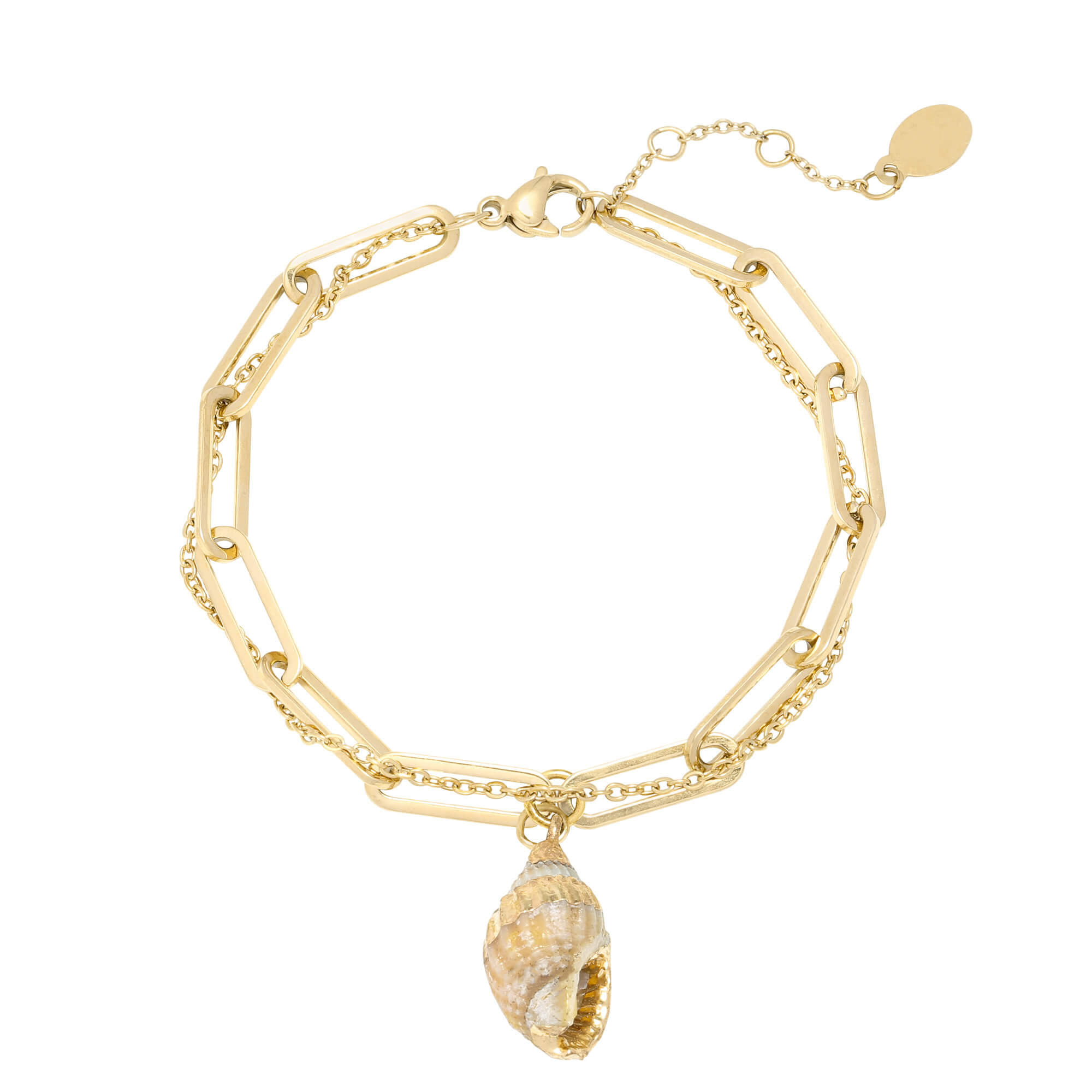 bracelet chaine double - bracelet femme mode - Charlie - Cénélia