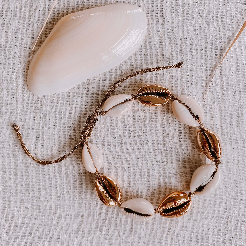 bracelet coquillages - bracelet d'été Cénélia - Alice