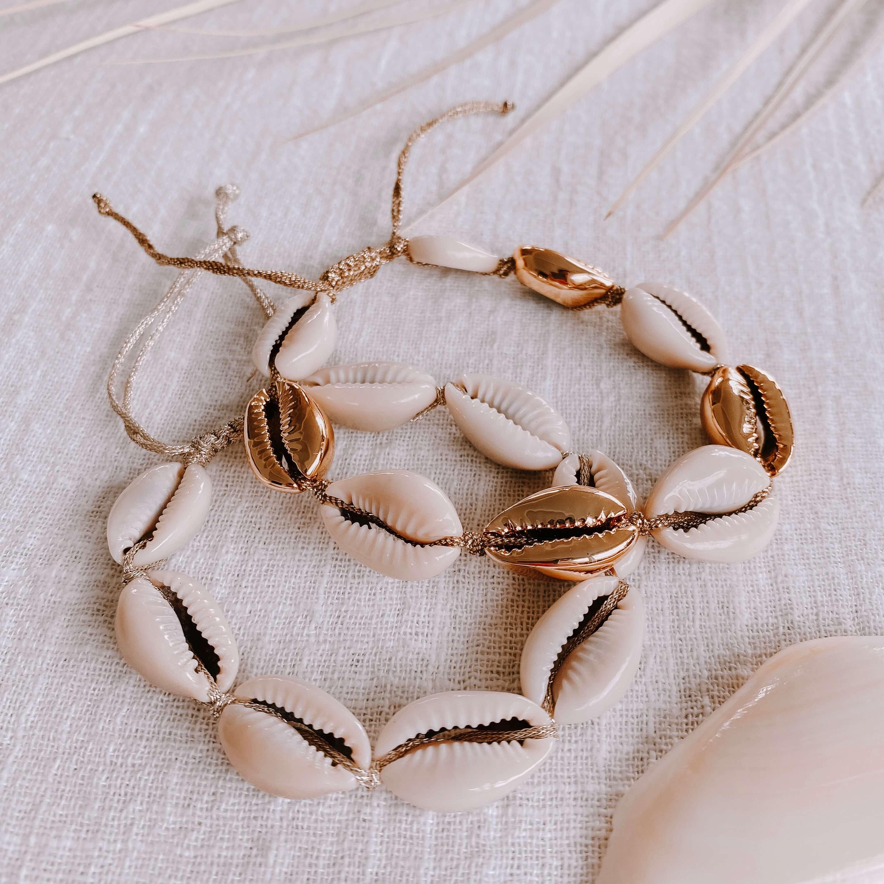 bracelet coquillages - bracelet en cauris Cénélia - Alice