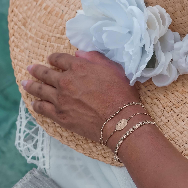 bracelet dollar des sables Cénélia - bracelet femme plage