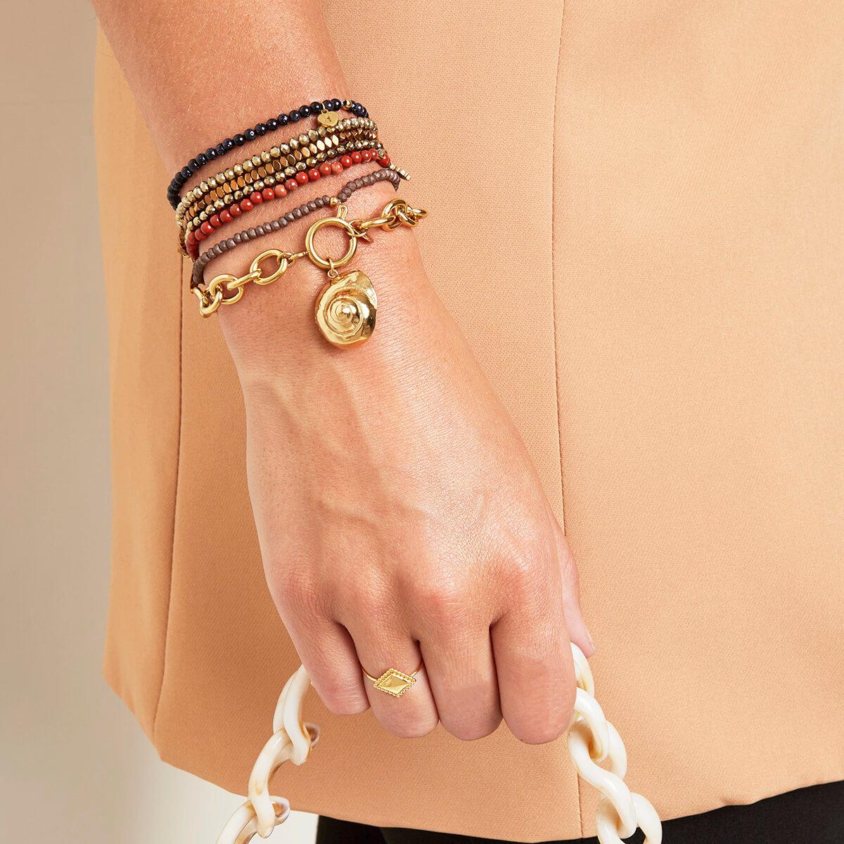 bracelet gros maillons - bracelet mode femme - Cénélia - Bérénice