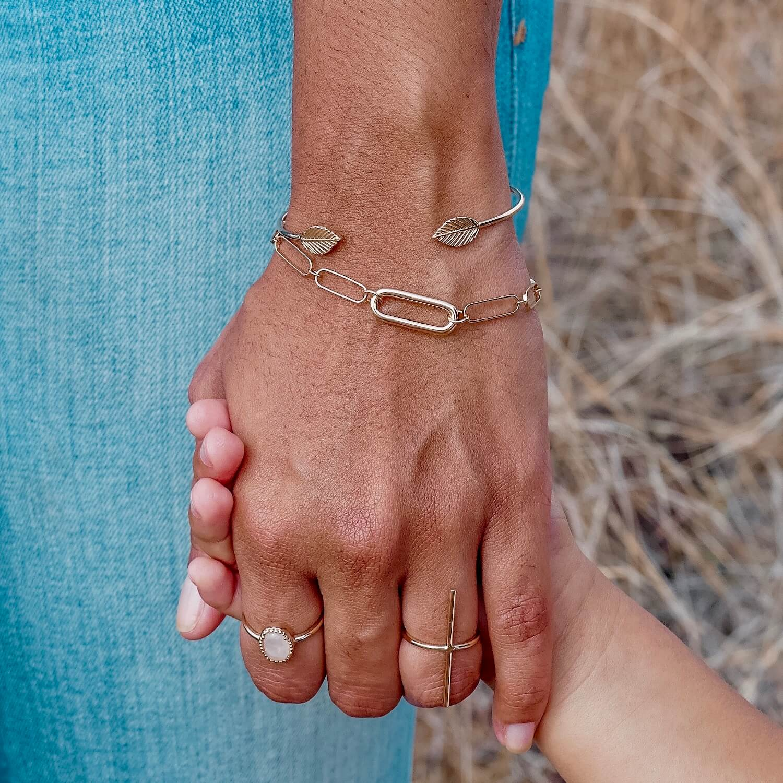 bracelet jonc or Ana - Bracelet Romy - Cénélia