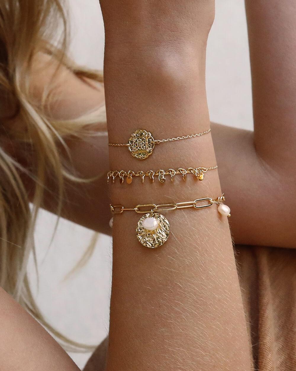 bracelet médaille - Cénélia - Bracelet mode femme