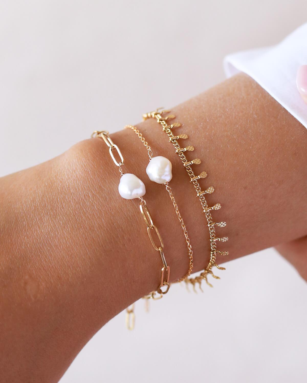 bracelet perle d'eau douce - bracelet femme mode - Cénélia