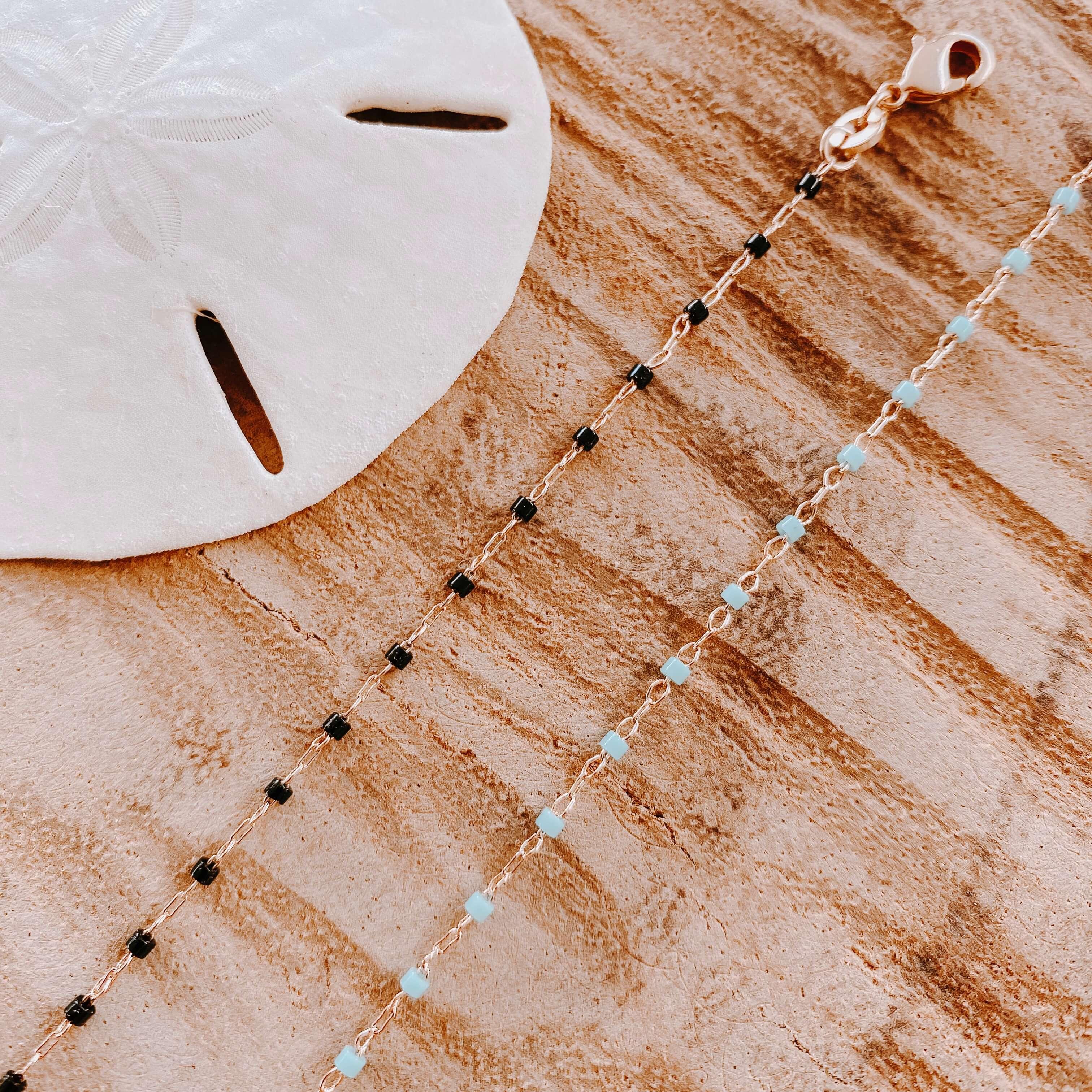 bracelet petites perles miyuki Cénélia - Jana
