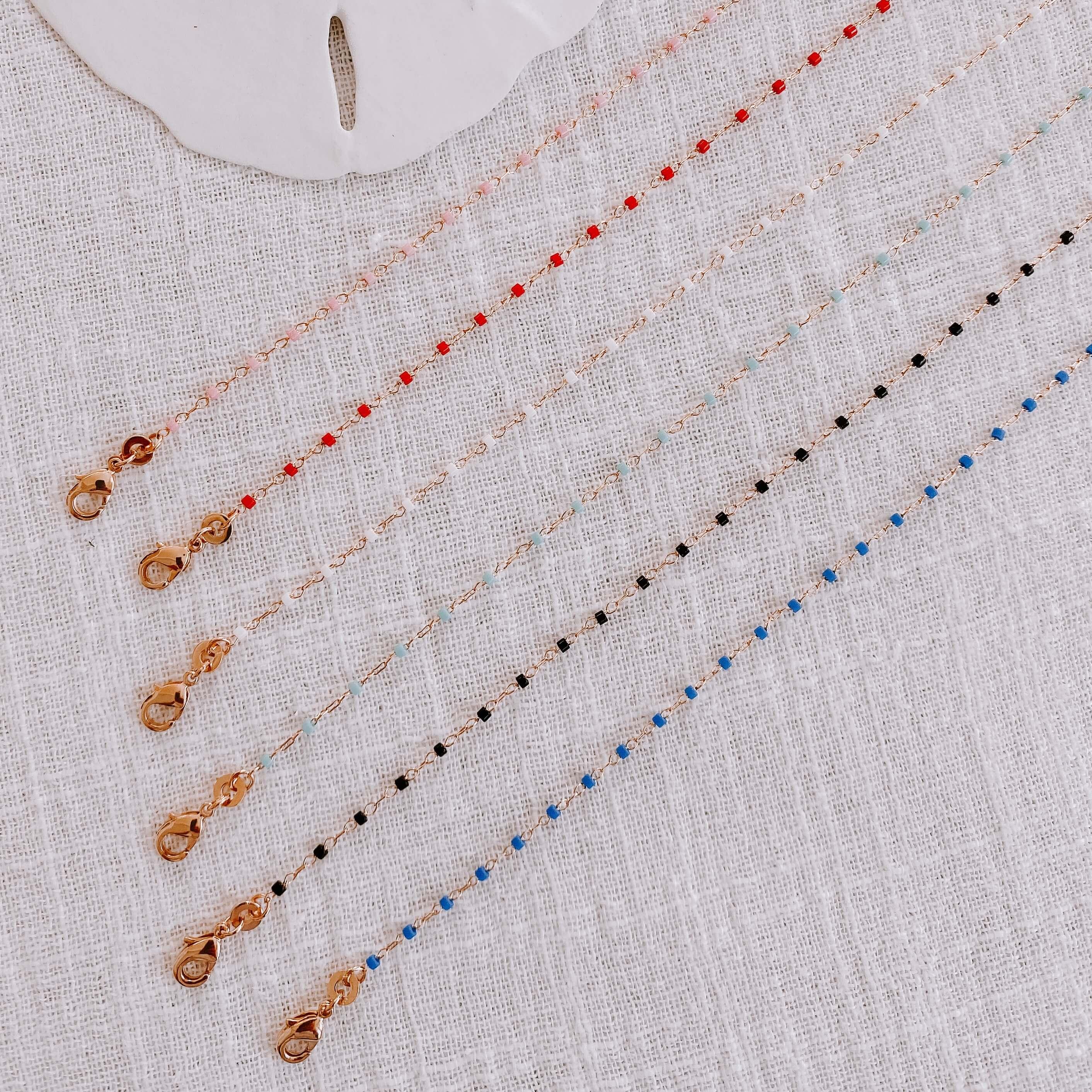 bracelet petites perles miyuki - bracelet perles de verre Cénélia - Jana