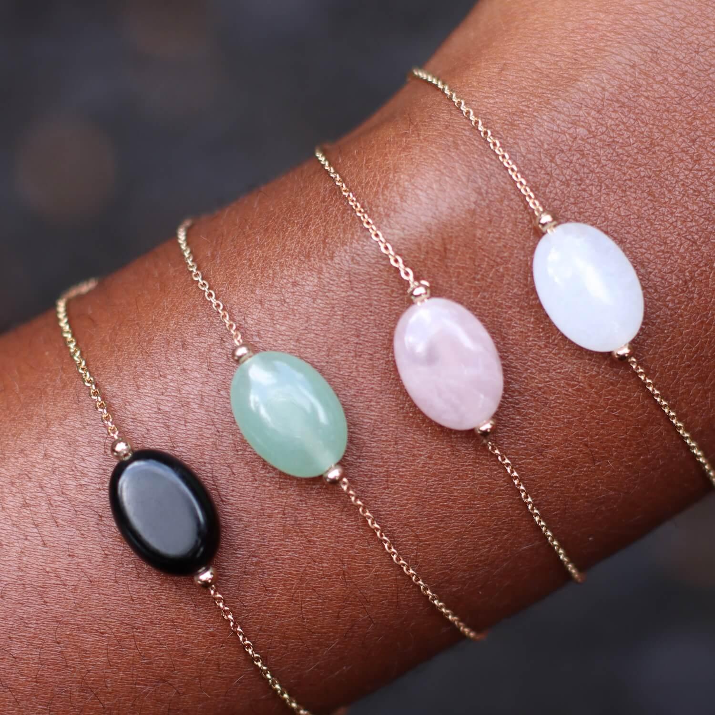 bracelet pierre naturelle - bijoux femme martinique mode Cénélia Diana