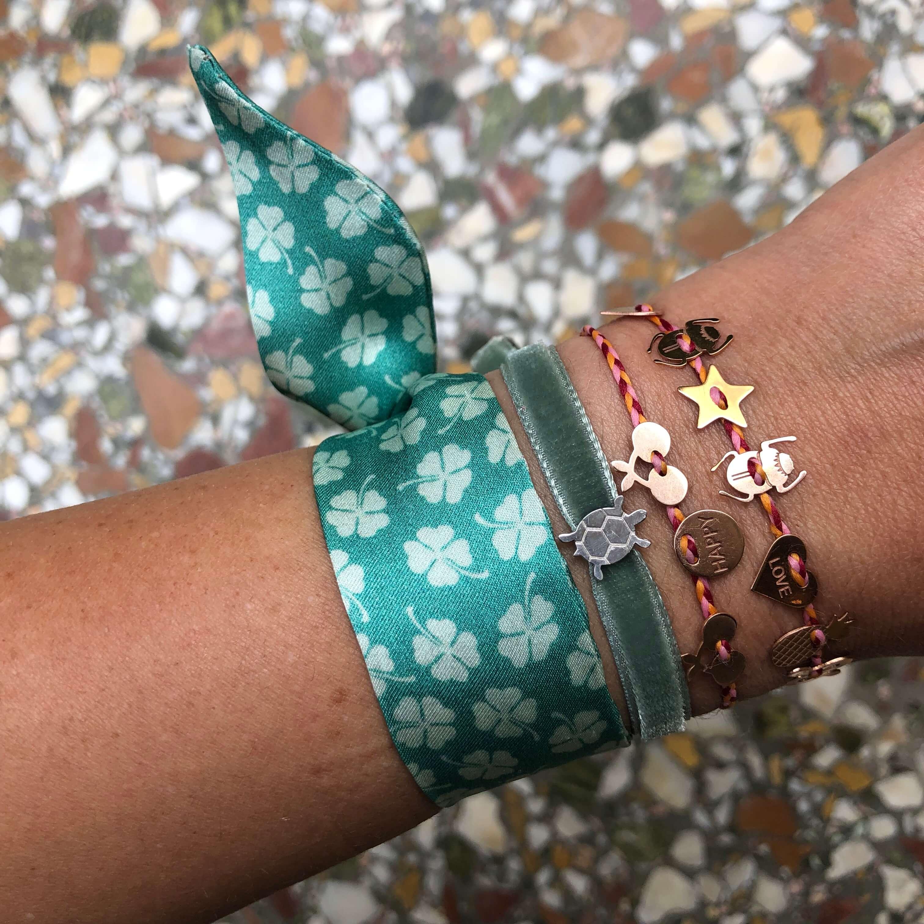 bracelet porte-bonheur - bracelet femme tendance - bracelet Chance - Cénélia