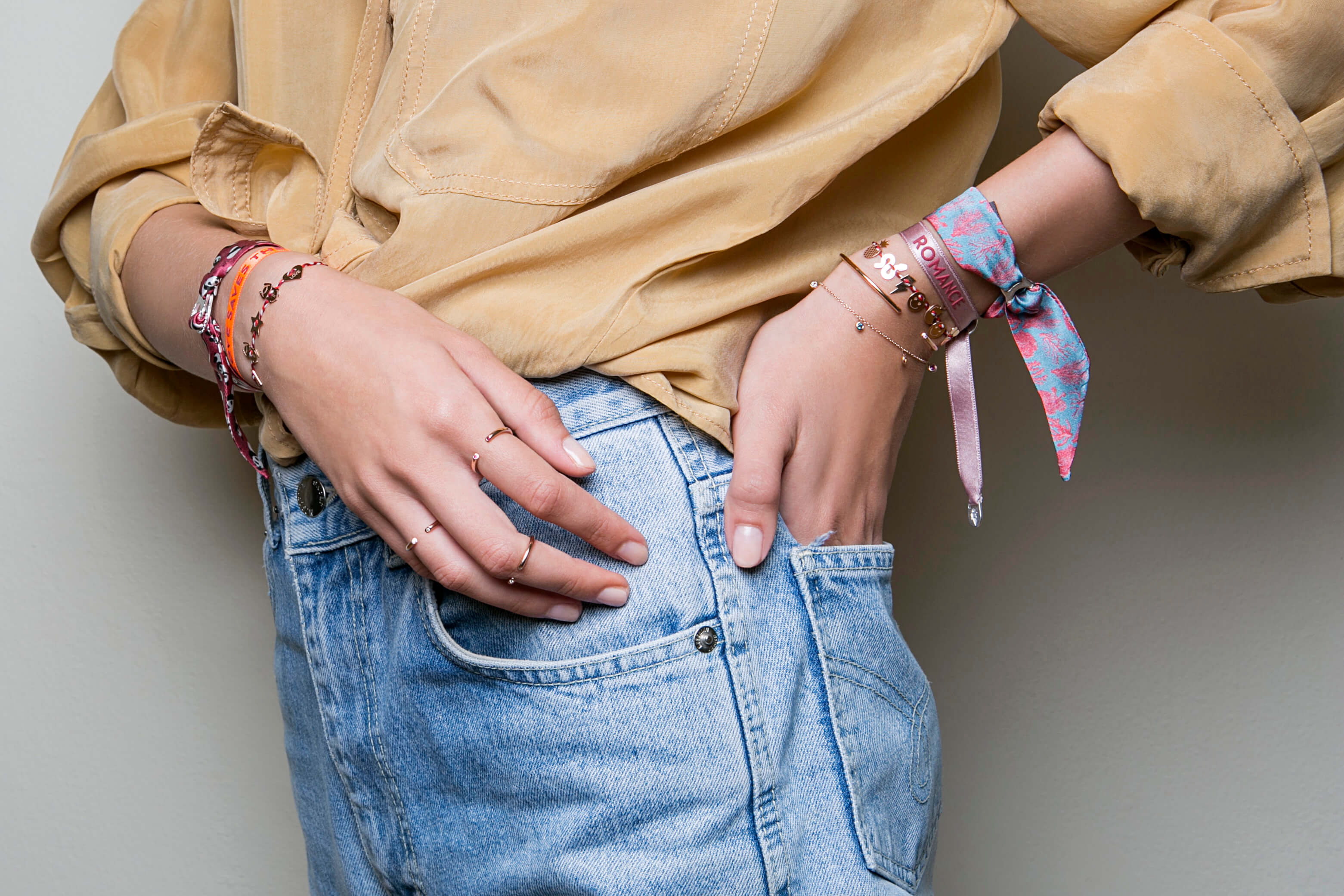 bracelet tendance - bracelet femme - bracelet coloré - Cénélia