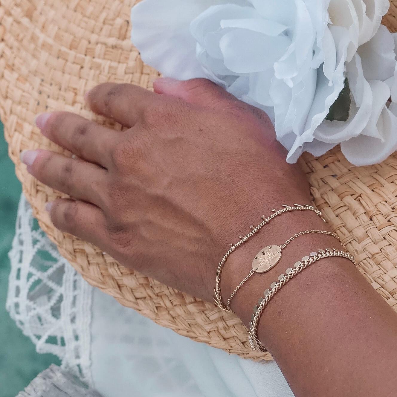bracelet tendance doré - Bracelets Cénélia Martinique