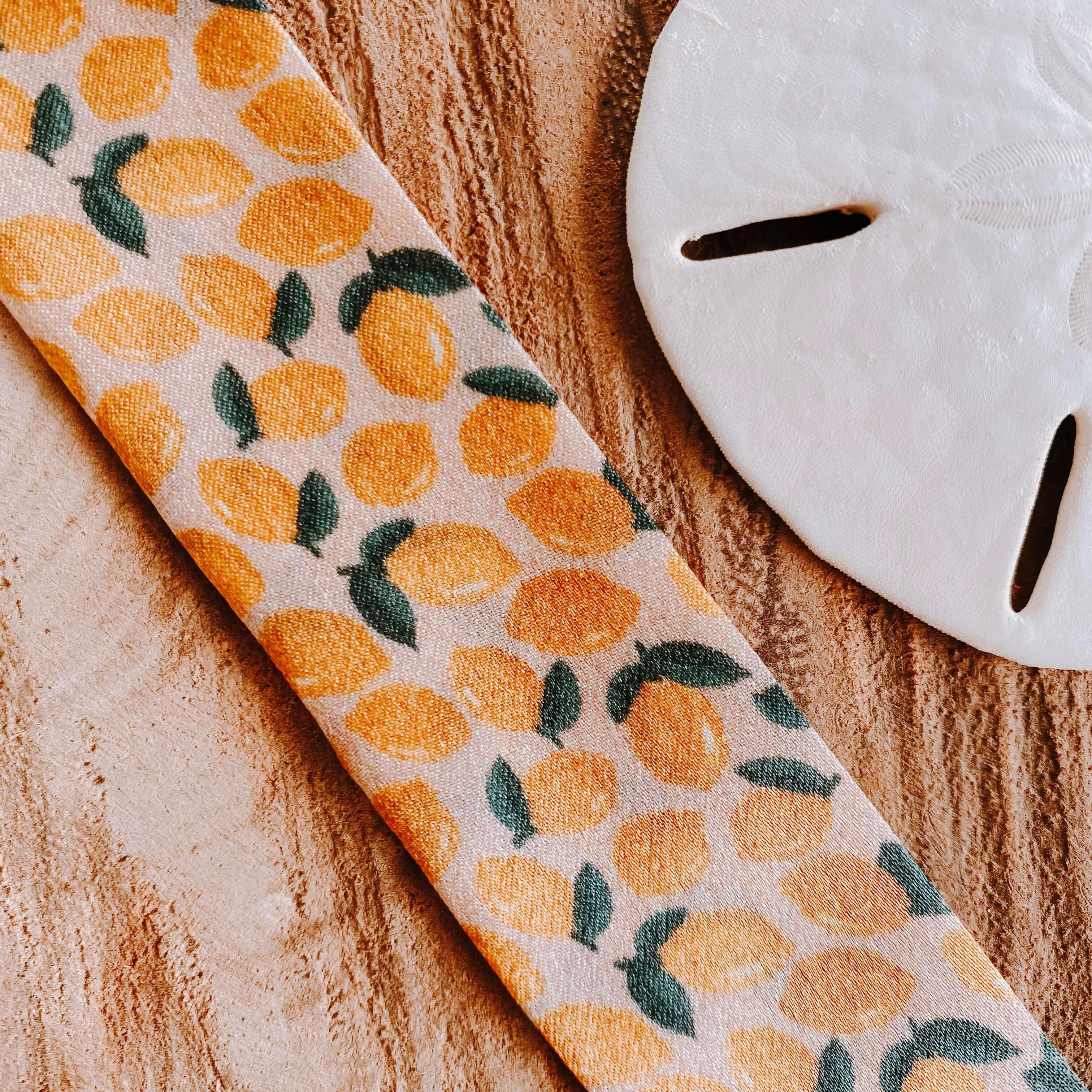 bracelets en soie citrons - Cénélia - Sinnamary