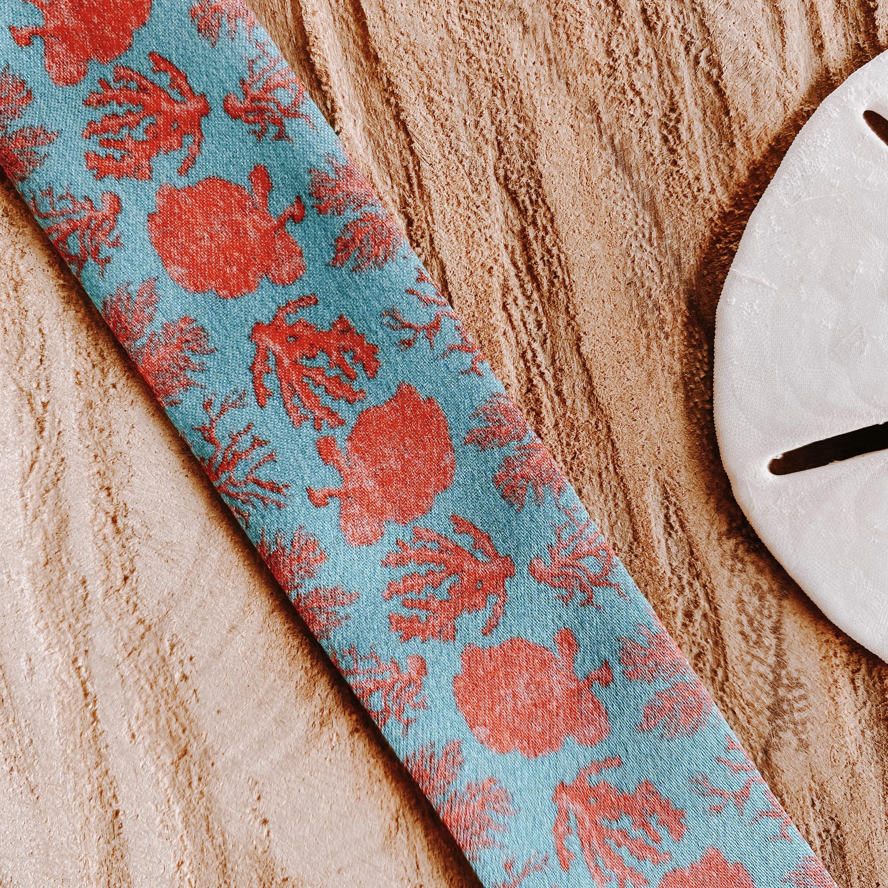 bracelets en soie coraux | Cénélia | Sinnamary