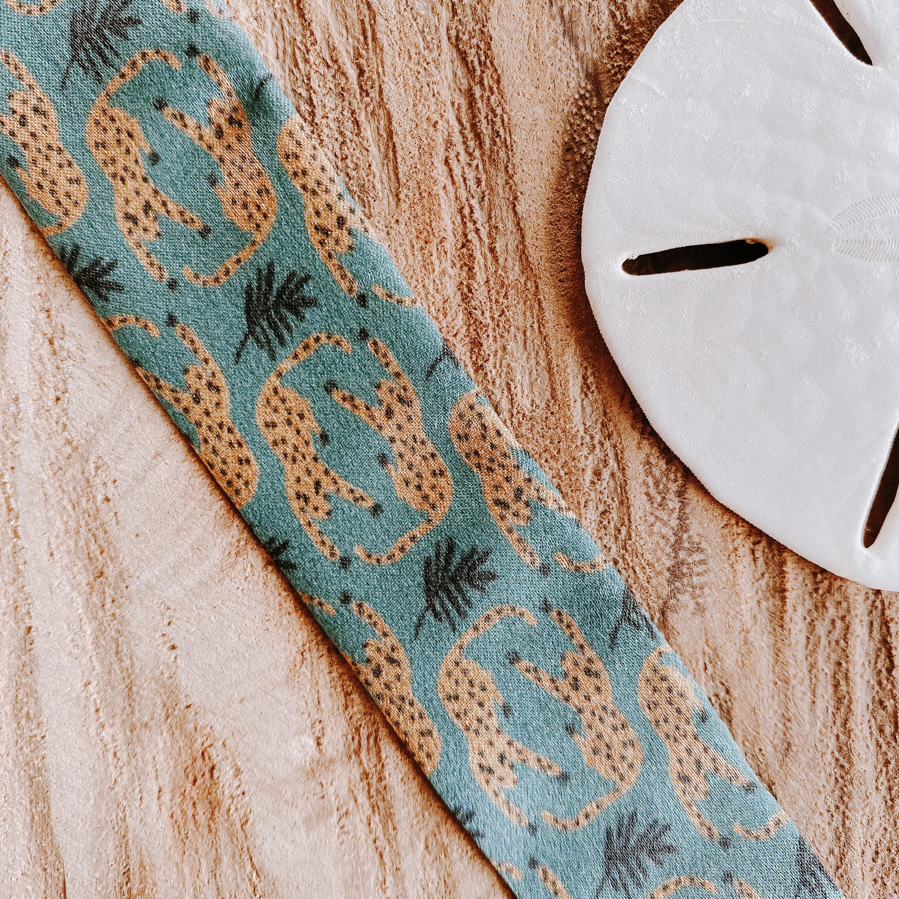 bracelets en soie jaguars | Cénélia | Sinnamary