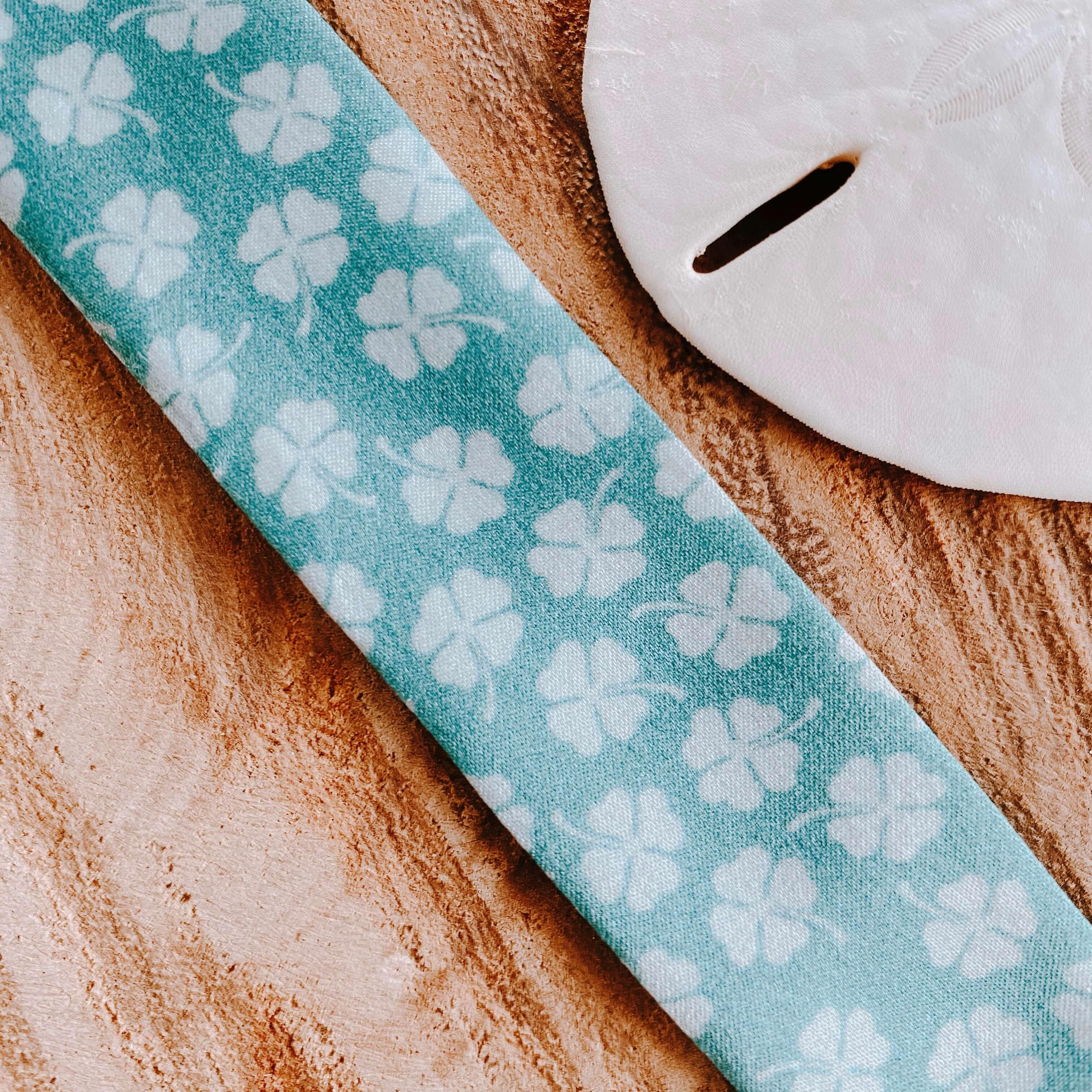 bracelets en soie trèfles - Cénélia - Sinnamary