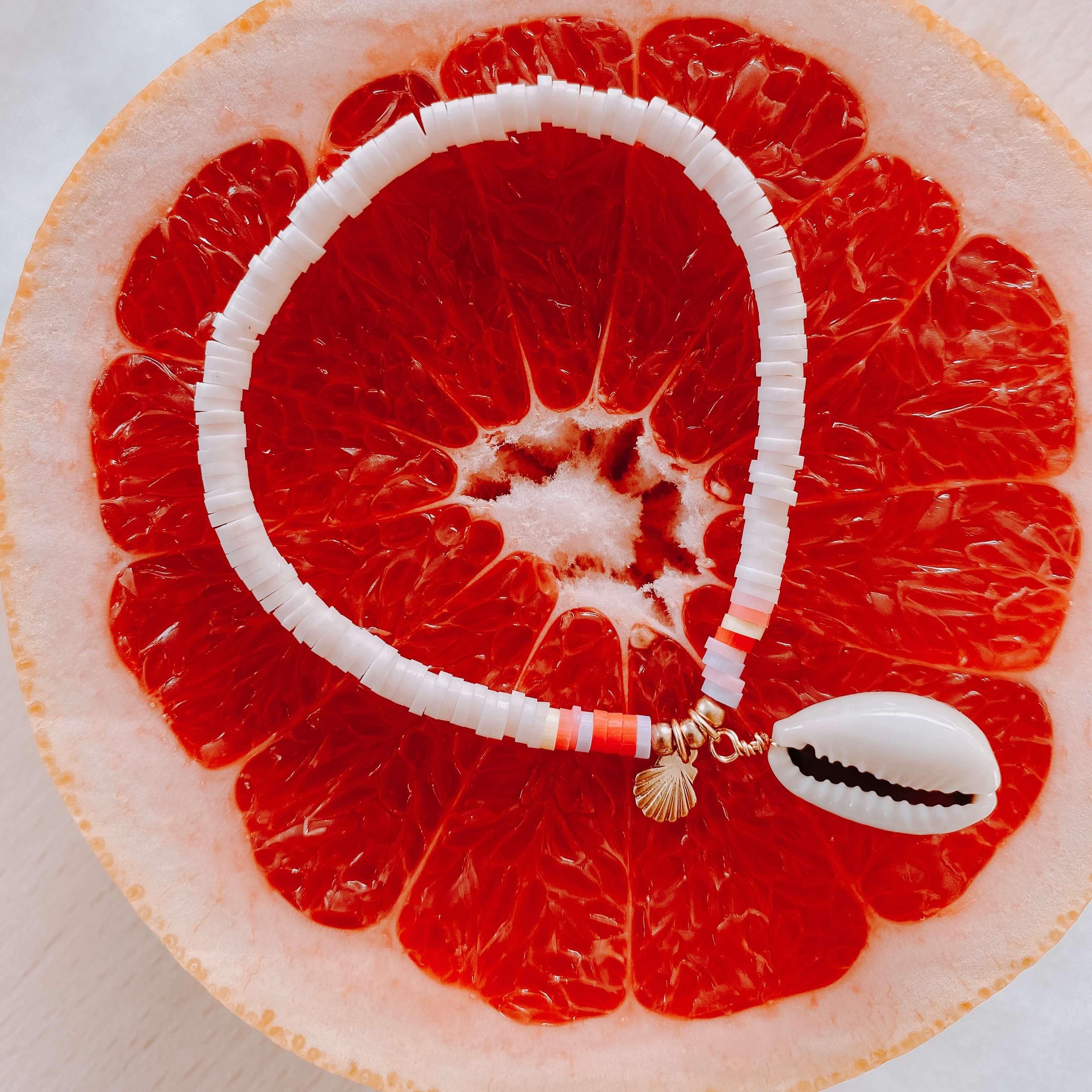 bracelets perles heishi Moana - Cénélia