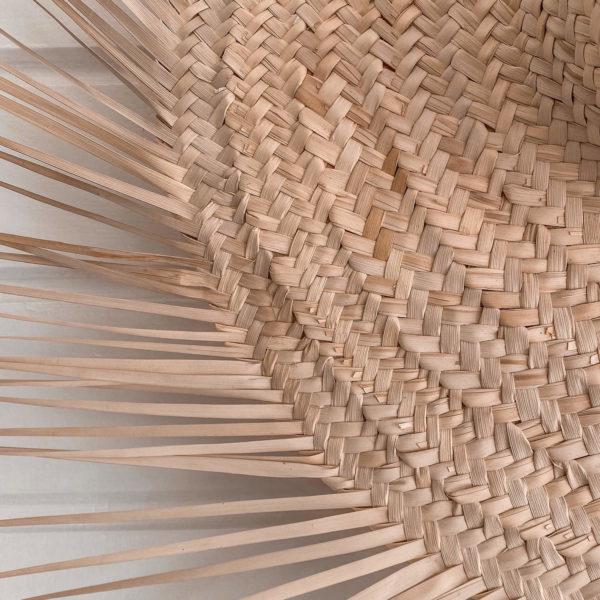 chapeau de paille à franges - Décoration tendance Martinique Cénélia