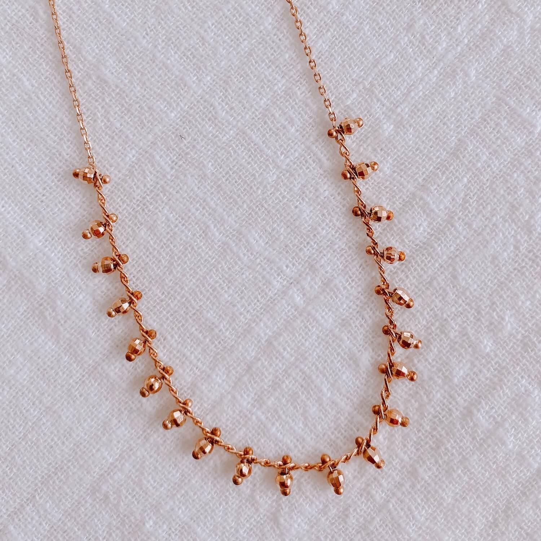 collier ras de cou Charlotte - collier femme antilles - Cénélia