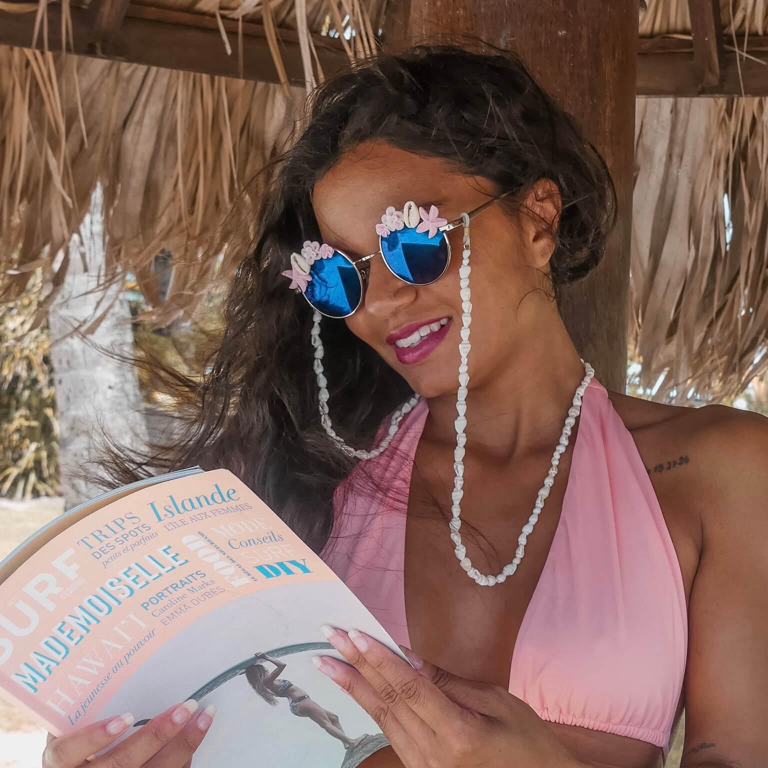 lunettes polarisées tendance - Lunettes de soleil été Cénélia