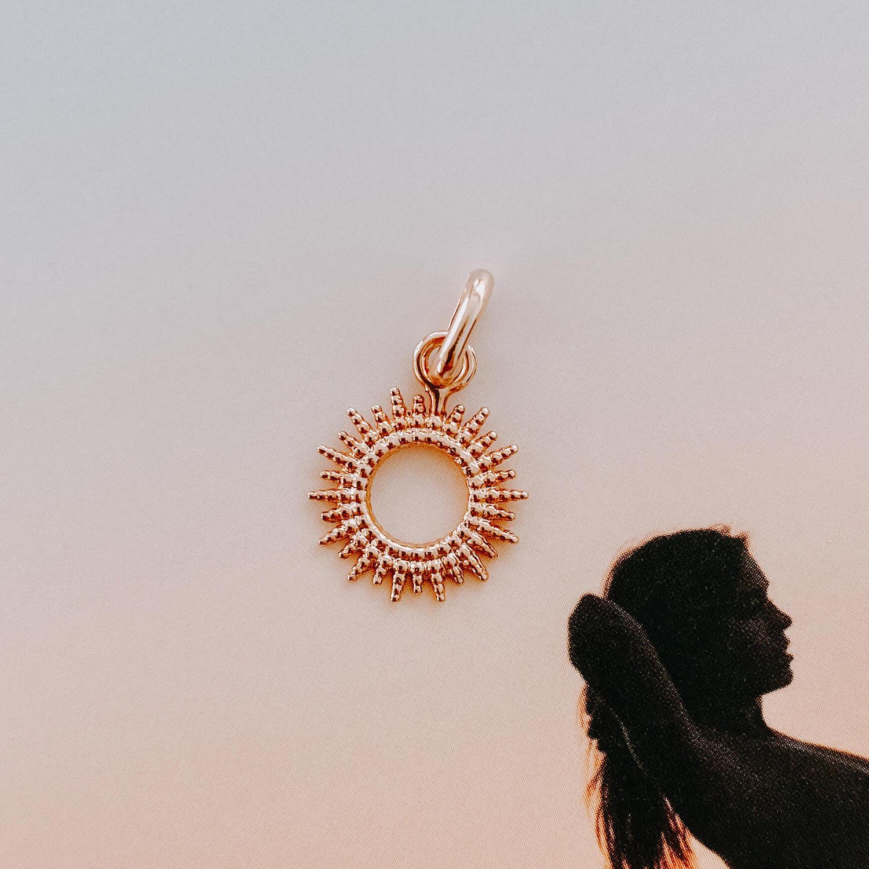 pendentif Sun goes down - bijoux cénélia martinique