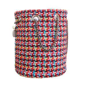 sac femme Haute Couture - sac seau mode femme fait en France - Sarah - Cénélia