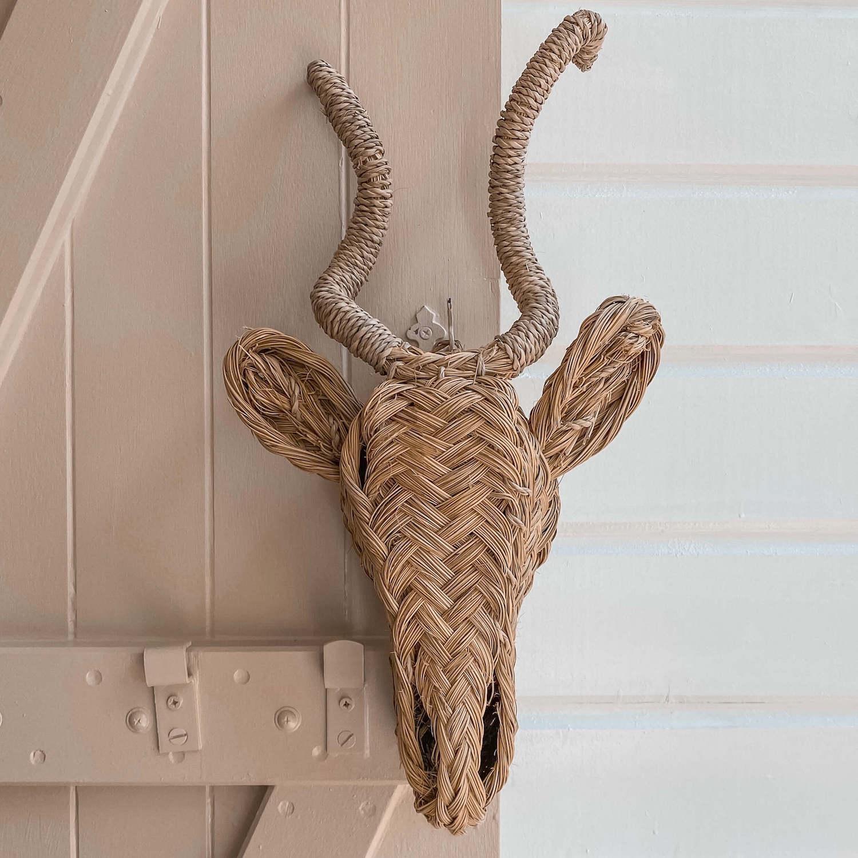 tête d'antilope décorative - boutique de décoration Martinique Cénélia