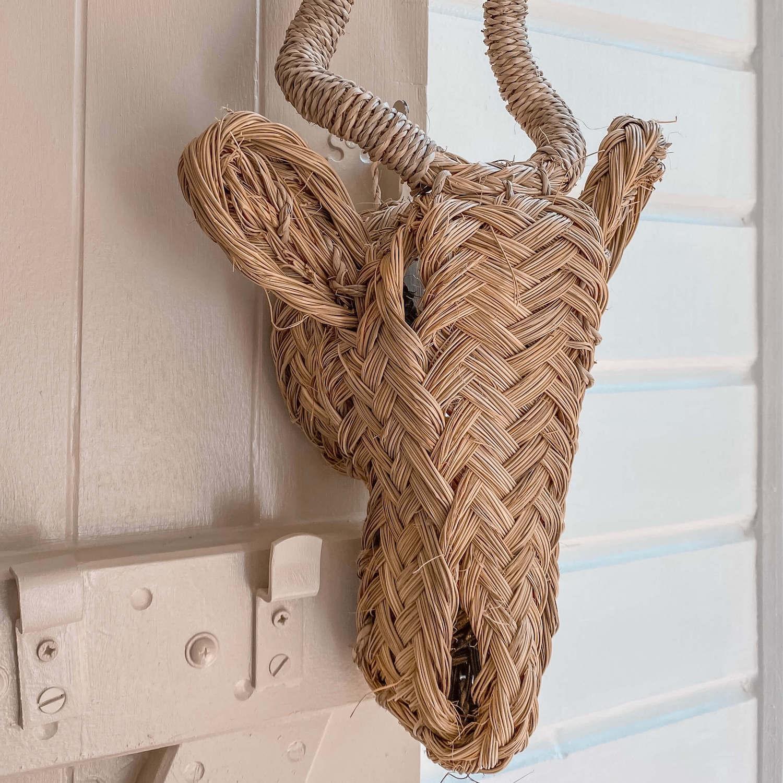 tête d'antilope décorative - boutique de décoration Martinique - Cénélia