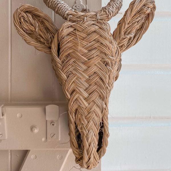 tête d'antilope décorative - boutique de décoration en Martinique Cénélia