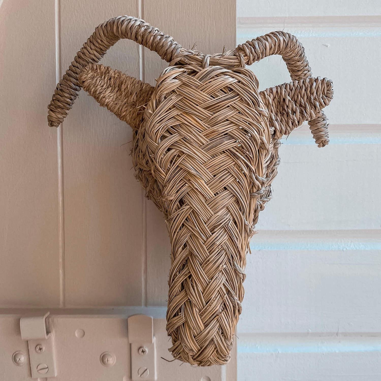 tête de bélier décorative - boutique décoration Martinique Cénélia