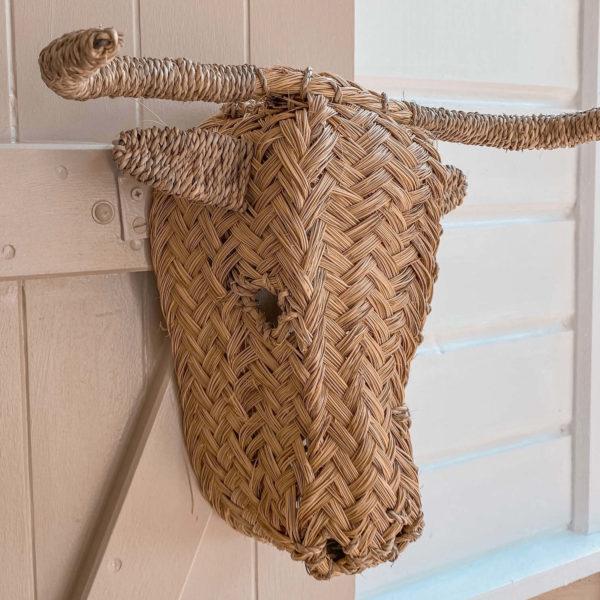 tête de boeuf décorative - boutique décoration Martinique Cénélia