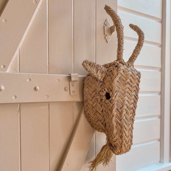 tête de bouc décorative - boutique décoration Martinique Cénélia