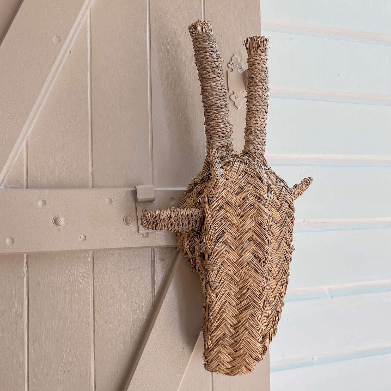 tête de girafe décorative - boutique de décoration Martinique Cénélia