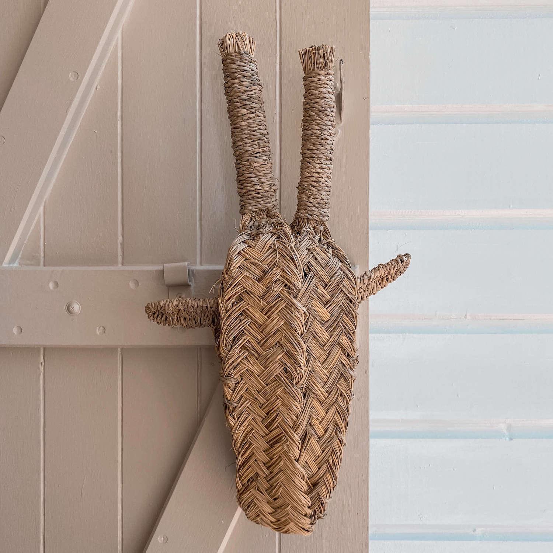 tête de girafe décorative - boutique de décoration en Martinique Cénélia