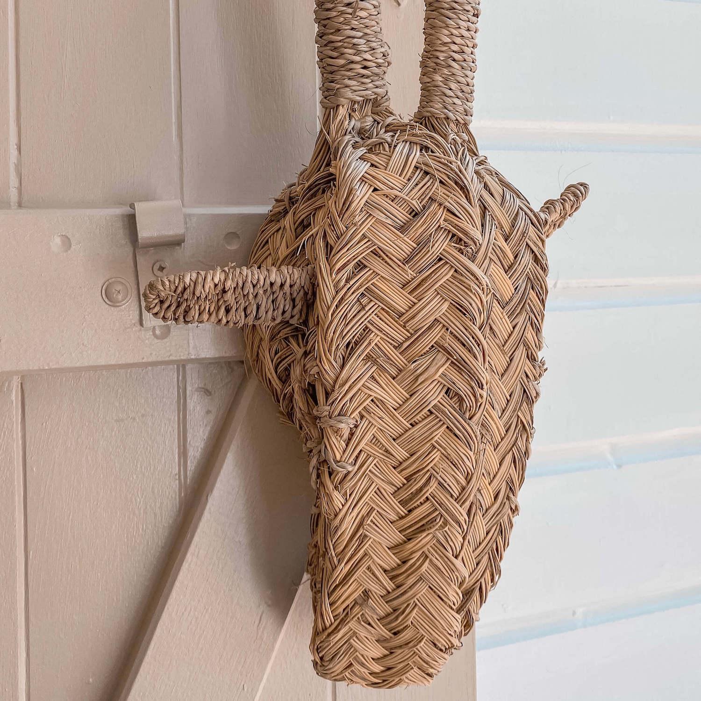 tête de girafe décorative - boutique décoration Martinique Cénélia