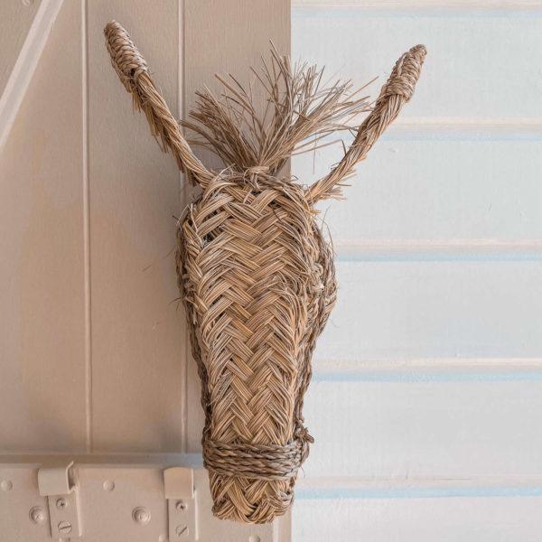 tête de poney décorative - Boutique de décoration Martinique Cénélia